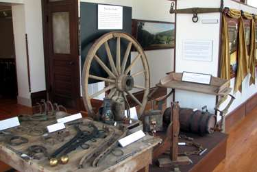 Turnpike Museum display